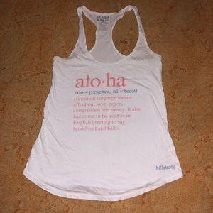 Aloha definition tank top